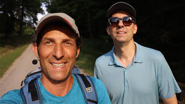 Tom Walek und Bogdan Roscic