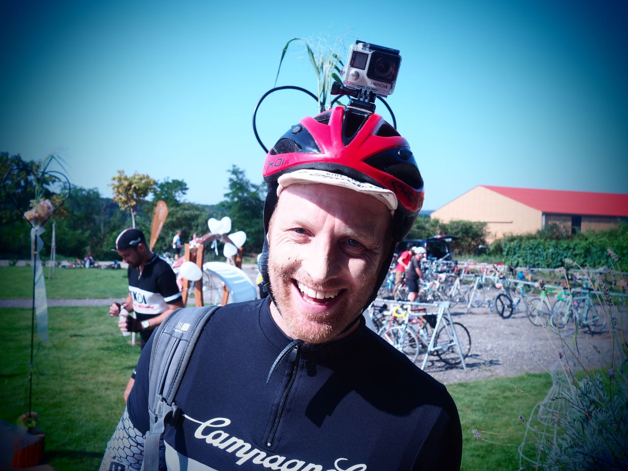 The cycling journalist