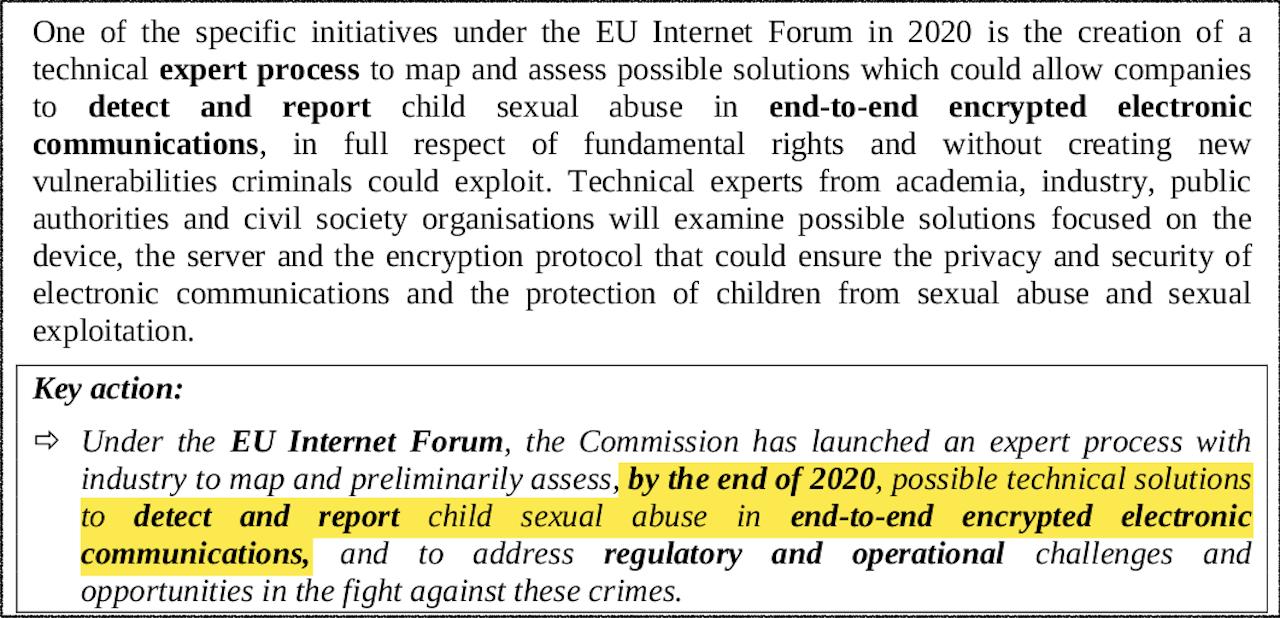 Neue EU-Richtlinie mit Maßnahmen gegen Verschlüsselung