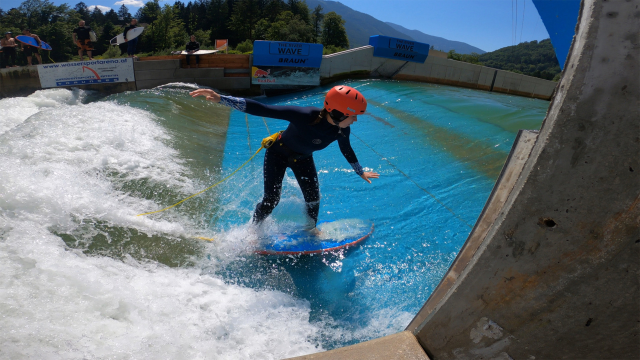Surfen in Ebensee