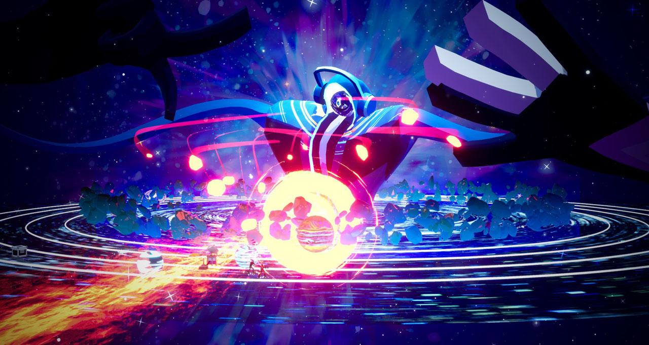 """Bildschirmfoto aus dem Videospiel """"No Straight Roads"""""""