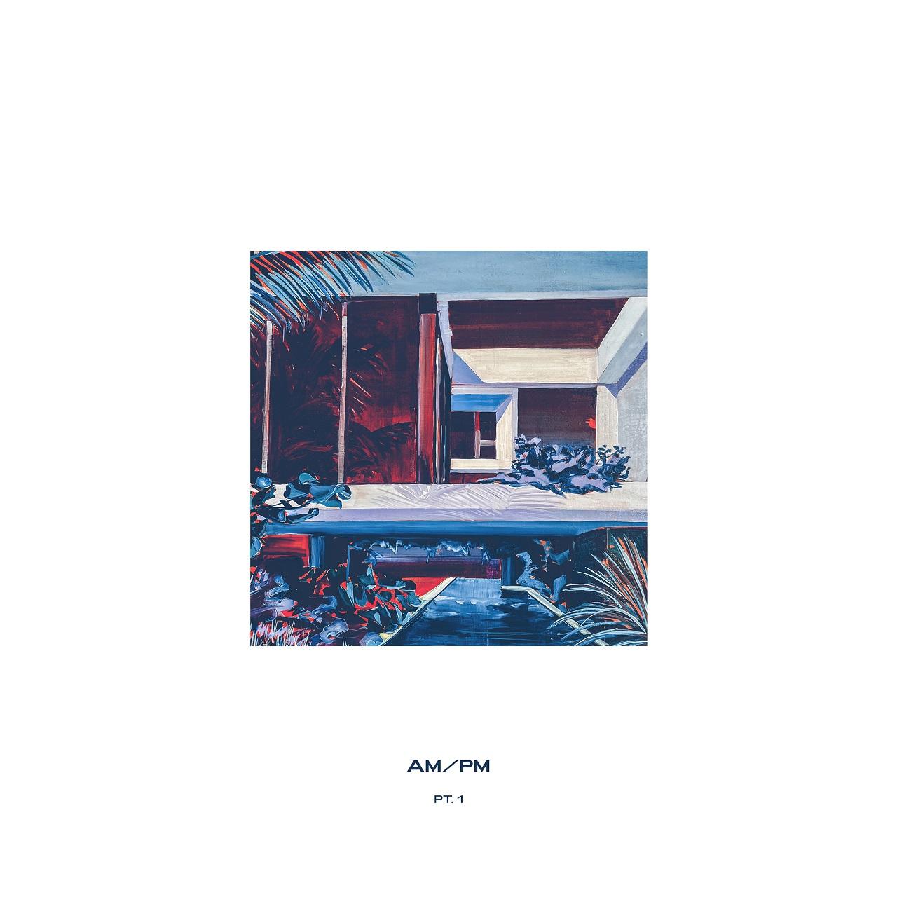 """Cover der neuen EP """"AM / PM"""" von Nihils"""