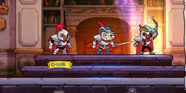 "Bildschirmfoto aus dem Computerspiel ""Rogue Legacy 2"""