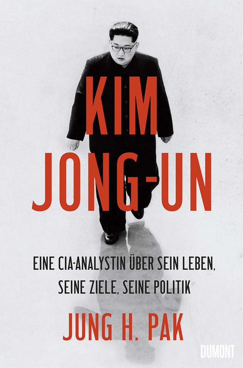 Kim Jong-un auf dem Buchcover