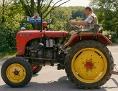 Stefan Schöner - beim Traktorfahren