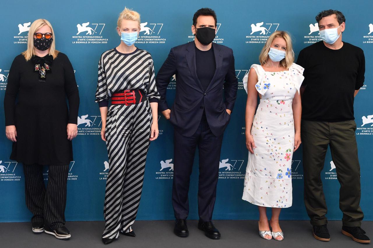 Veronika Franz,  Cate Blanchett, Matt Dillon, Ludivine Sagnier und Christian Petzold