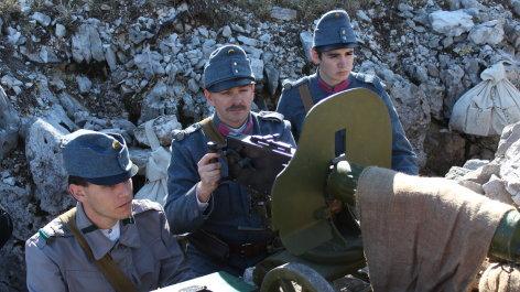 03.09.20 zeit.geschichte Der Erste Weltkrieg Die Schlacht in den Alpen 050920