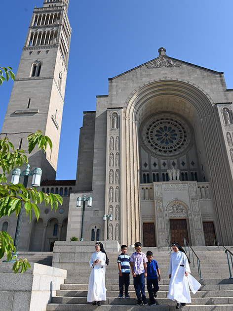 Katholische Kirche Basilica of the National Shrine of the Immaculate Conception in Washington, DC