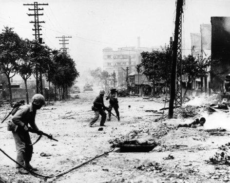 Die großen Weltkonflikte  Der Koreakrieg