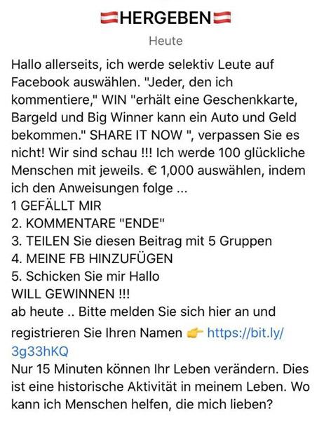 Gabi Hiller Fake-Profil