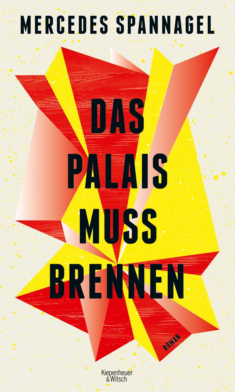 Buchcover mit bunter, abstrakter Grafik, die an eine Explosion erinnert