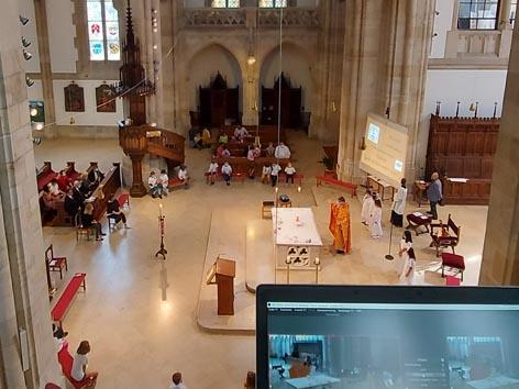 Streaming von Gottesdiensten
