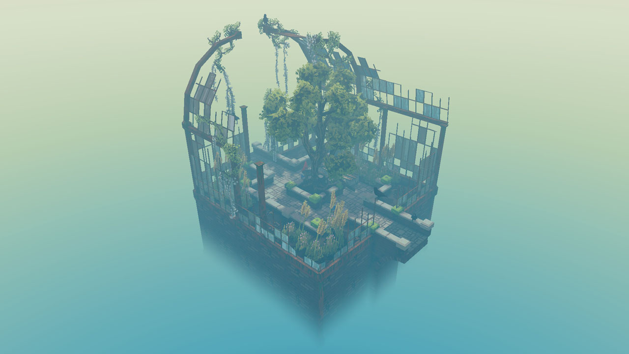"Bildschirmfoto aus dem Computerspiel ""Cloud Gardens"""
