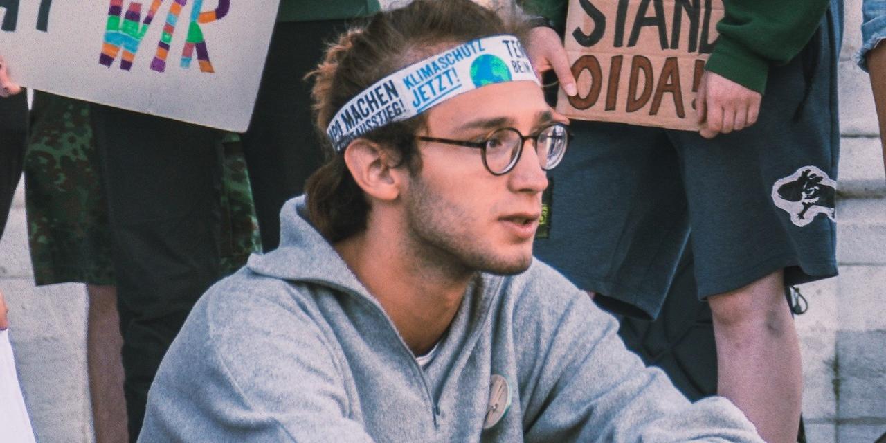 Klimaaktivist Max Fuchslueger