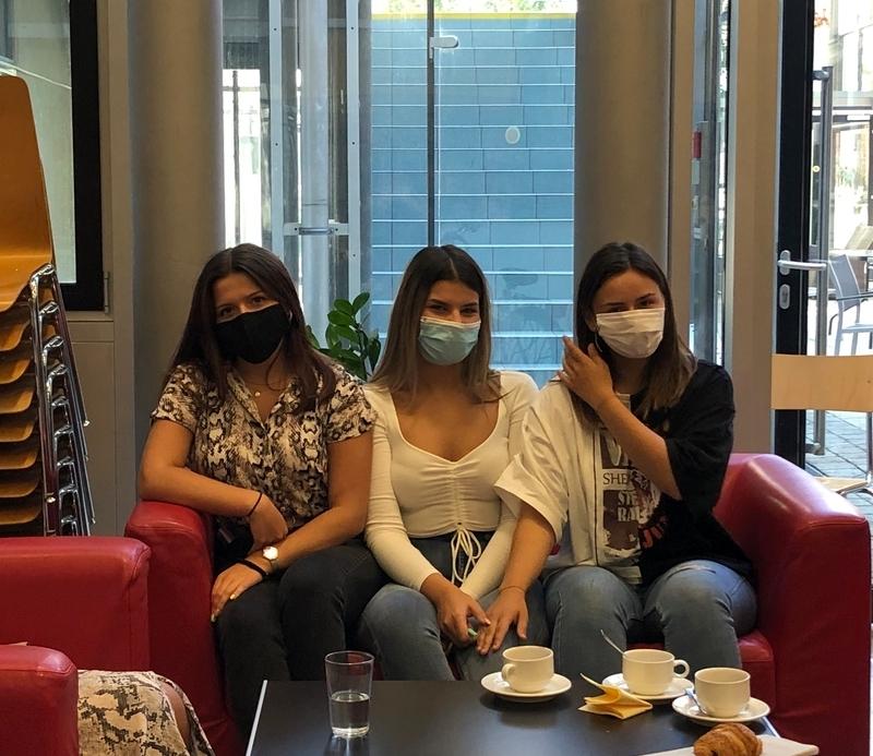 Schülerinnen der BHAK BHAS Wien 10