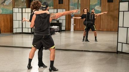 Marcos und Alex beim Training
