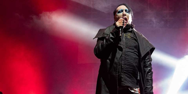Marilyn Manson beim Astroworld Festival im NRG Stadium im November 2019