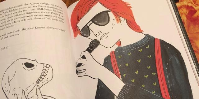 """""""Bowie: Ein illustriertes Leben"""" von Maria Hesse und Franz Ruiz"""