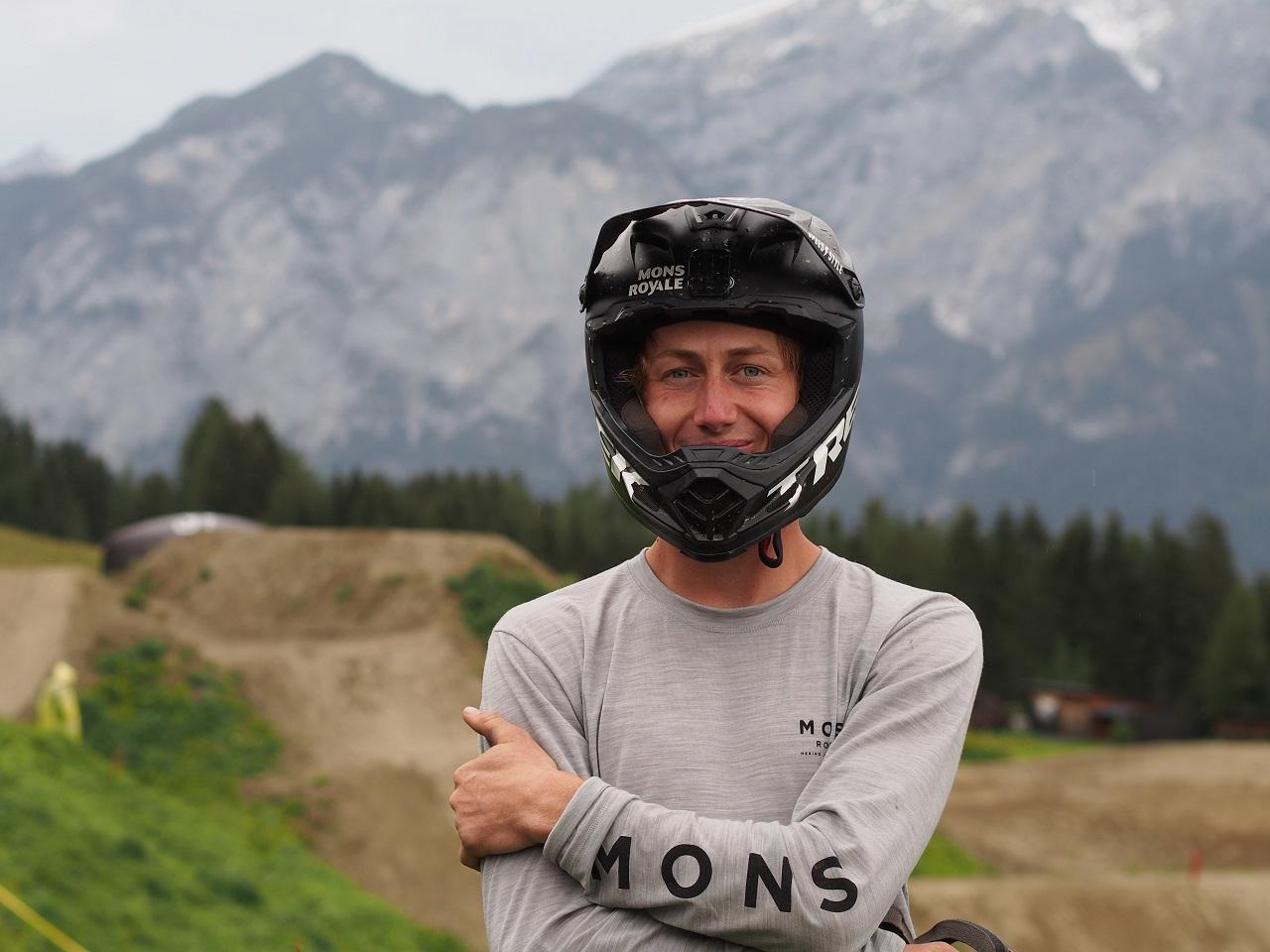 Peter Kaiser beim Crankworx 2020