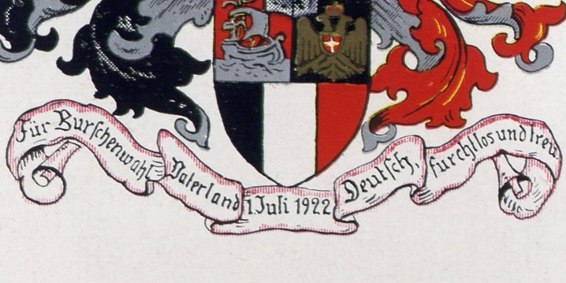 Studentenwappen des Corps Hansea Wien