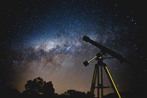 Teleskop Sterne Nachthimmel