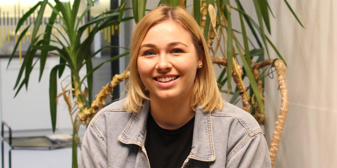Sabine Hanger, ÖH-Vorsitzende von der Aktionsgemeinschaft