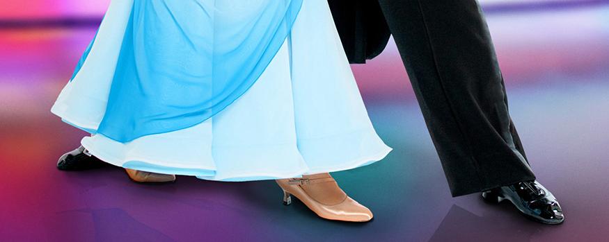 tanzende Füße