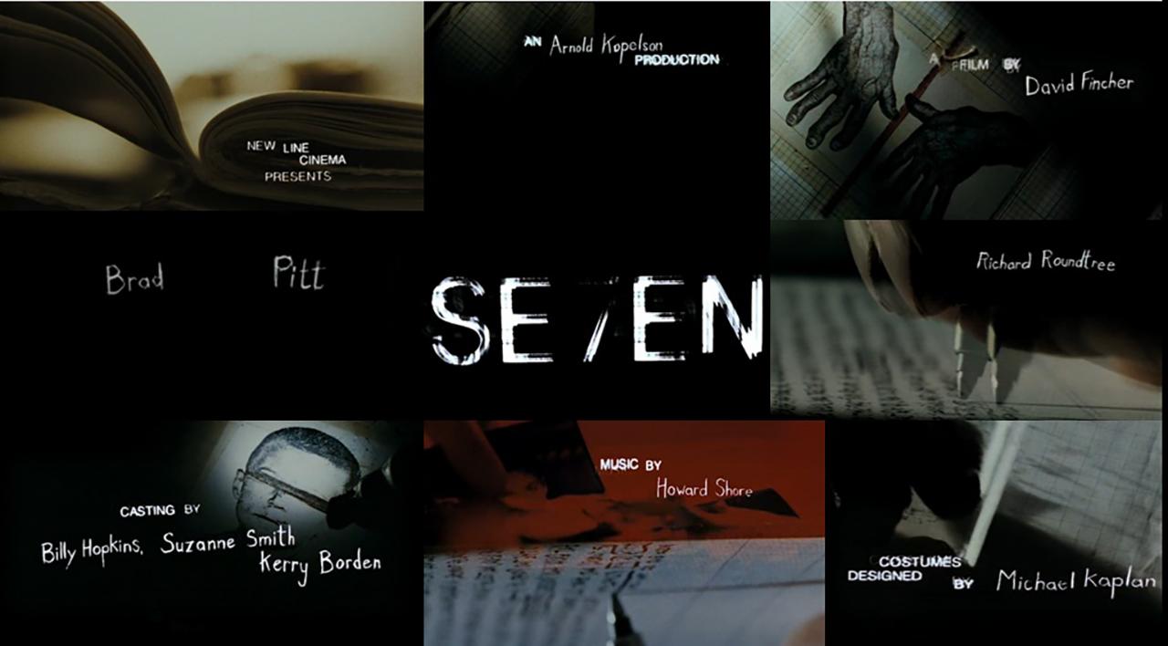 Szenenbild aus dem Film Se7en