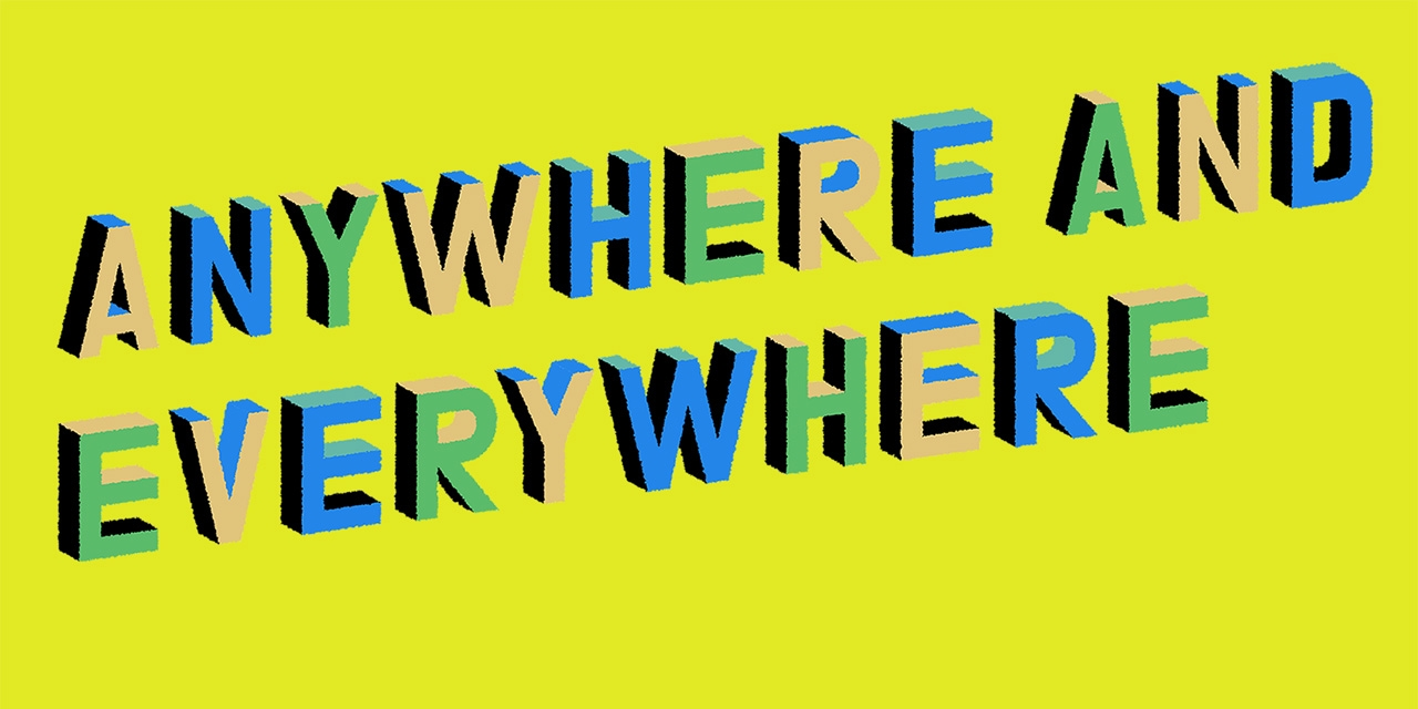 Logo Indiecade Anywhere and Everywhere