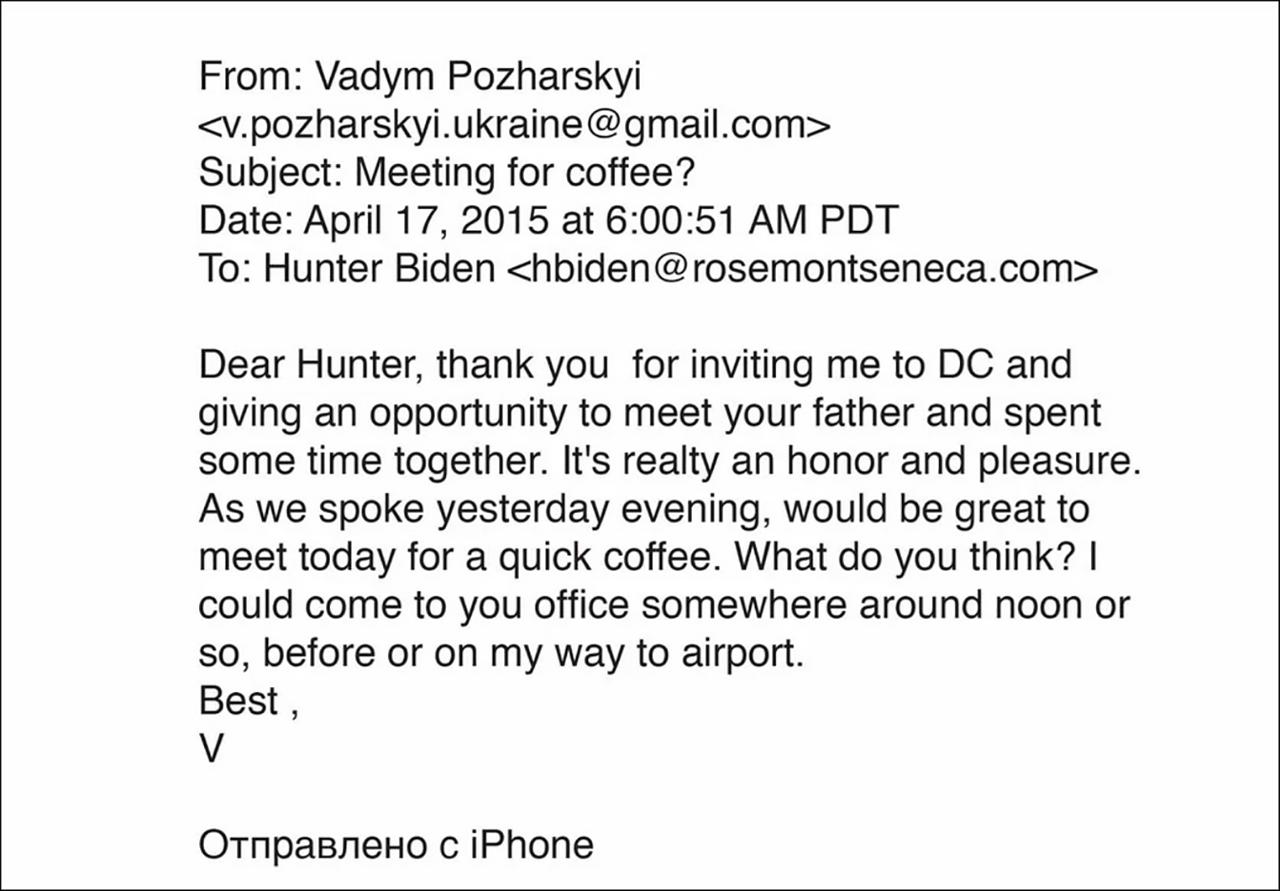 E-Mail von Vadym Pozharskyi