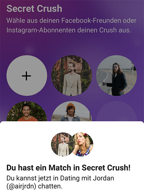 Facebooks neue Dating-Funktion