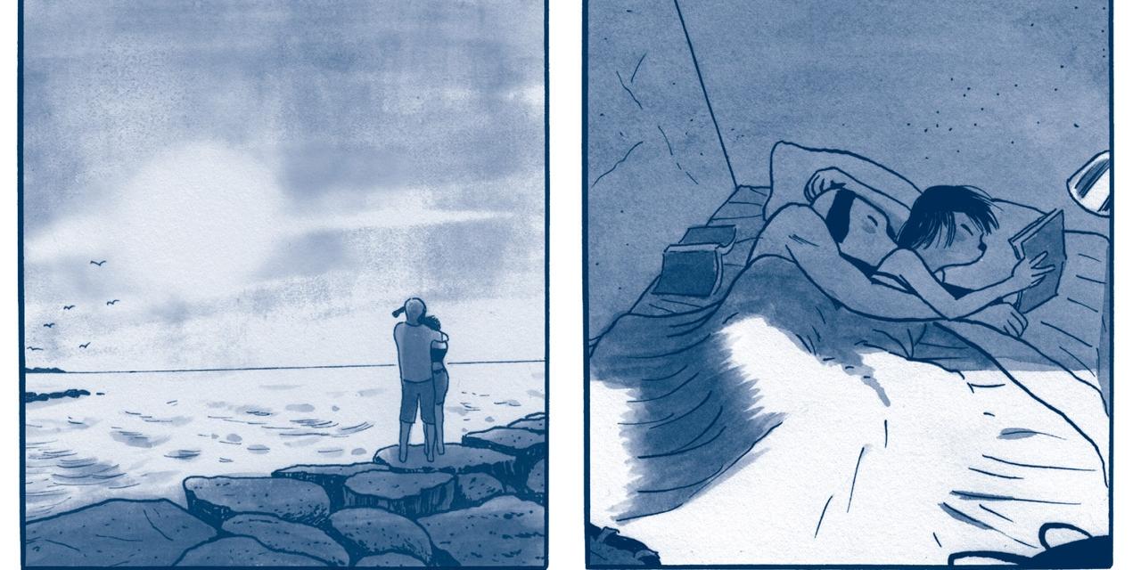 """Bilder aus dem Comic """"Ausnahmezustand"""" von James Sturm"""