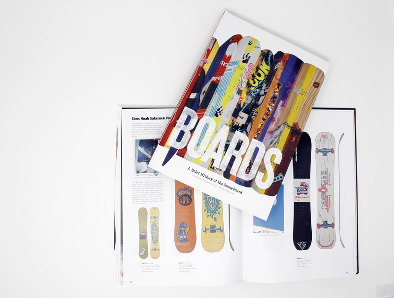 "Buch ""Boards - A Brief History Of The Snowboard"""