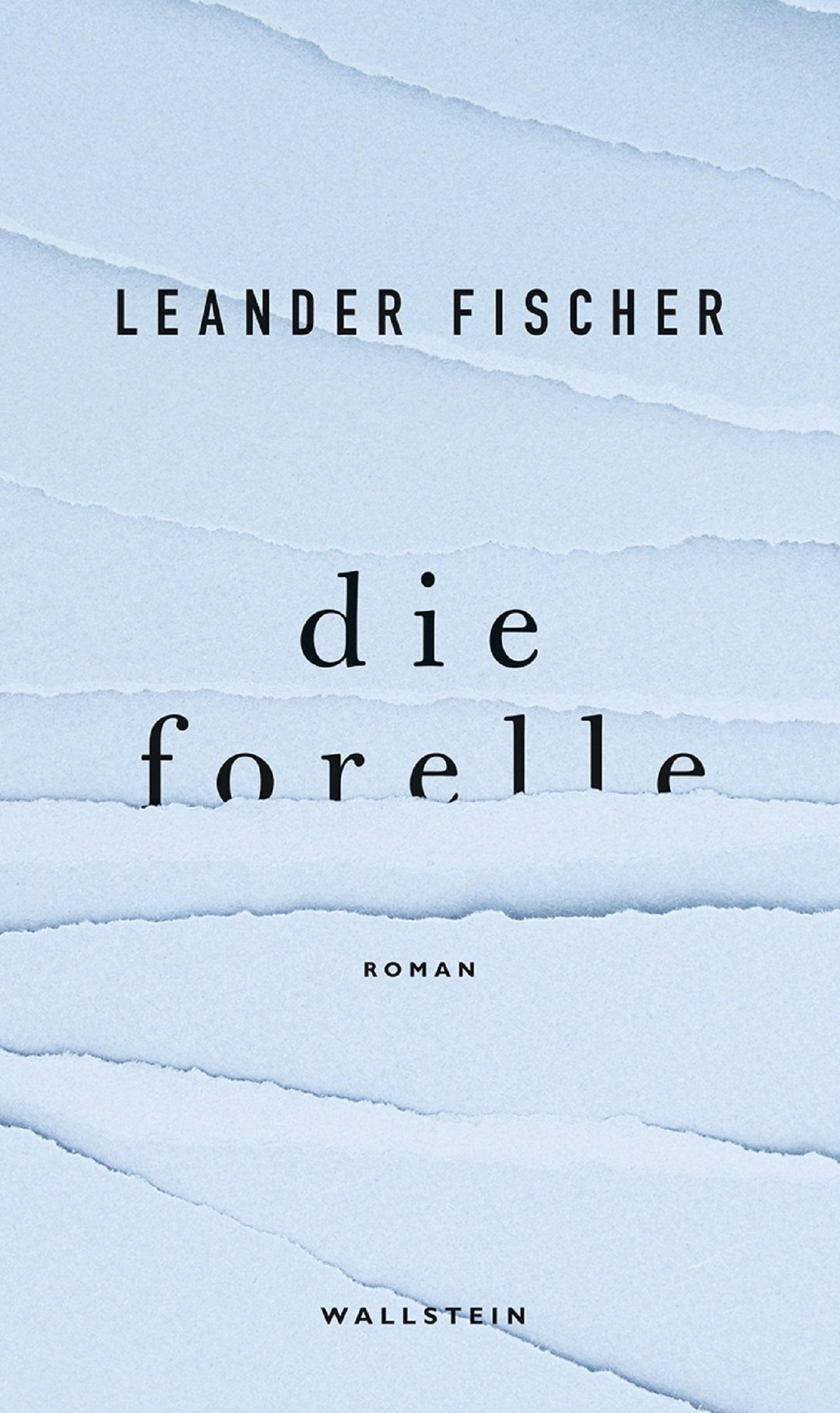 """Buchcover """"Die Forelle"""" Leander Fischer"""