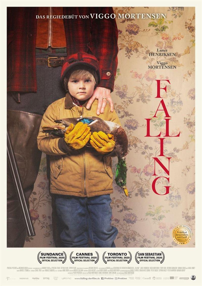 "Plakat ""Falling"""