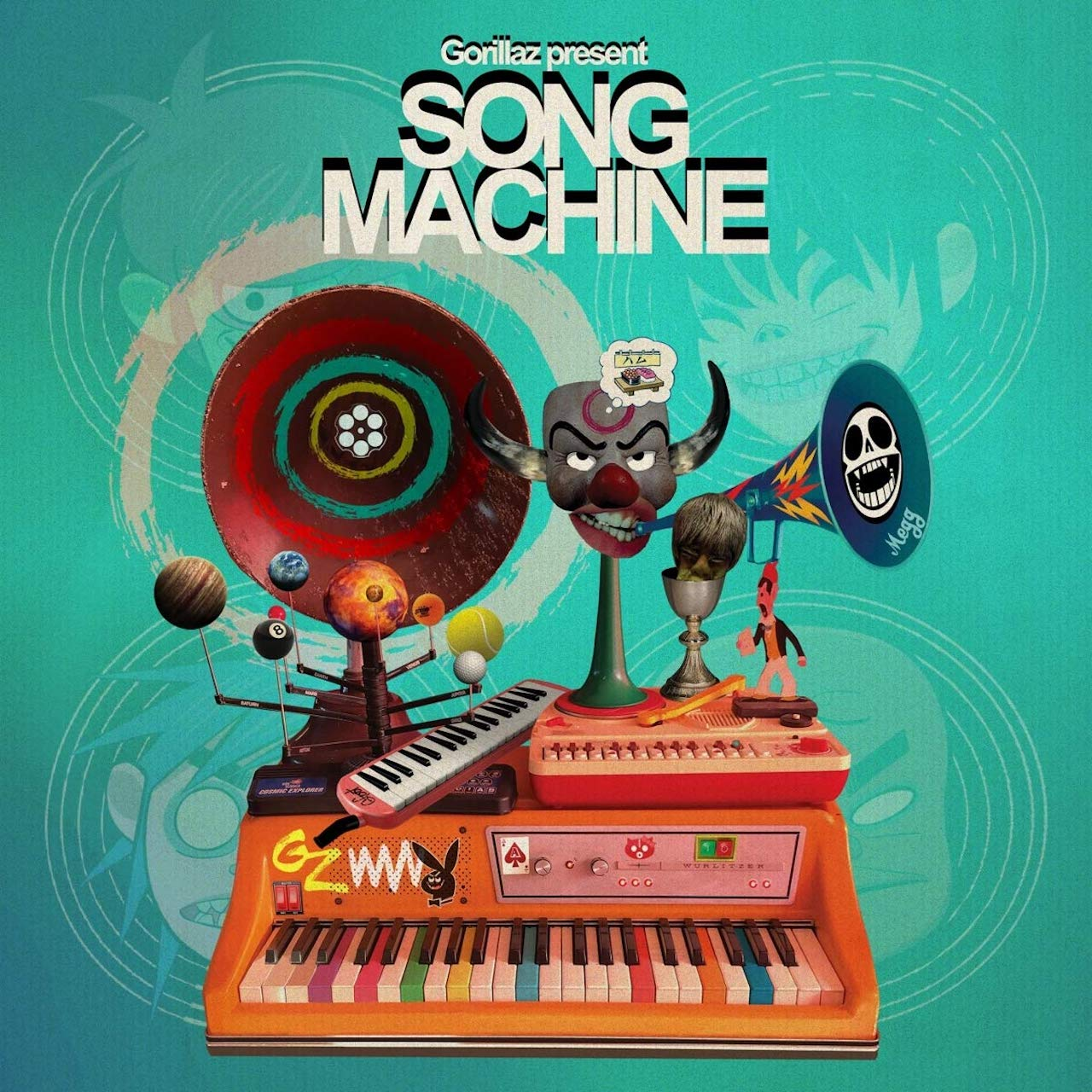 "Gorillaz ""Song Machine"" Cover"