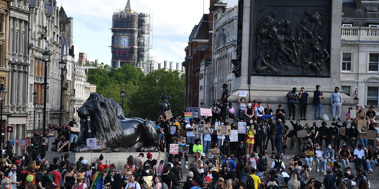 Black Lives Matter Proteste in London