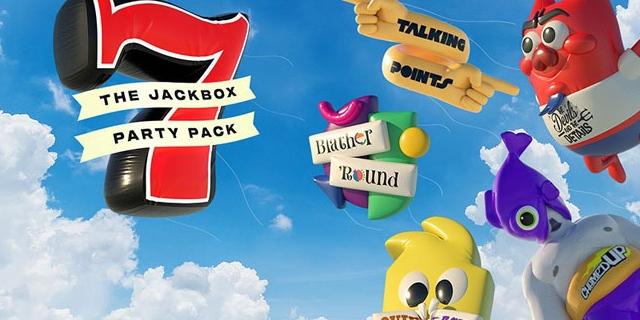 """Logo der Spielesammlung """"Jackbox Party Pack 7"""""""