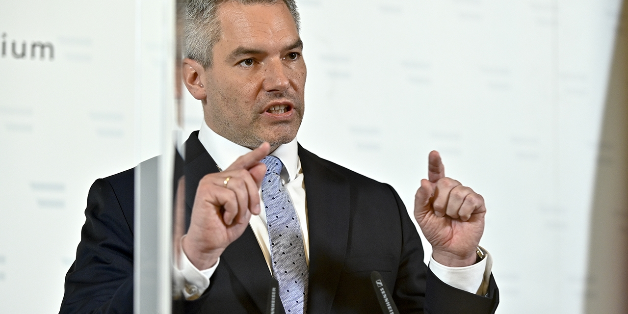 Innenminister Nehammer
