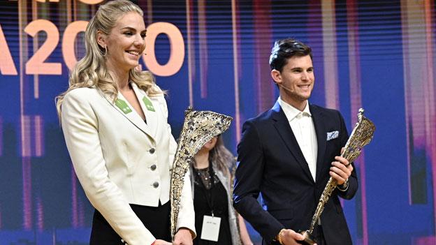 """Dominic Thiem und Ivona Dadic sind """"Sport des Jahres"""" 2020"""