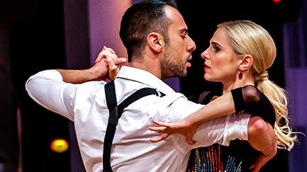 Silvia Schneider und Danilo Campisi
