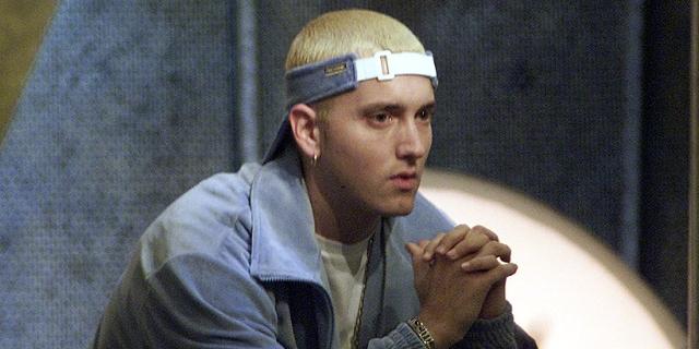 Eminem vor den MTV Awards 2001