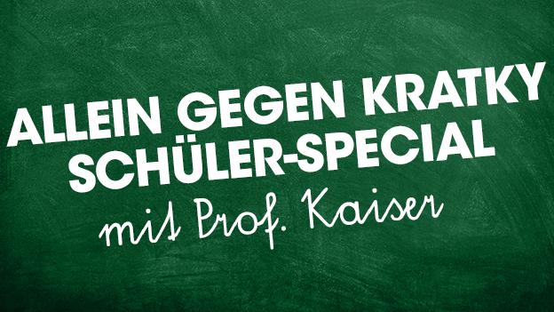 Schultafel Prof. Kaiser AGK Schüler-Special Edition