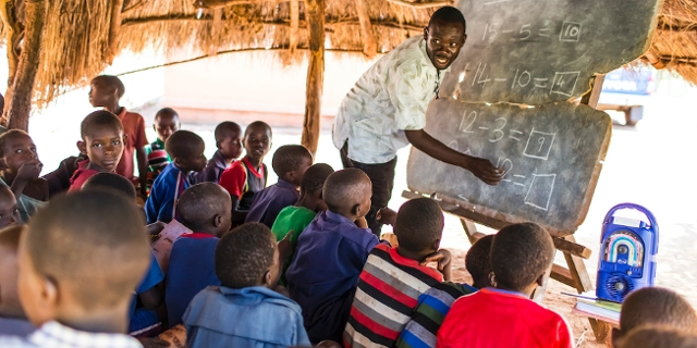 Bilder von internationalen Hilfsprojekten der Kindernothilfe Österreich