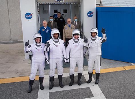 Space X Launch NASA Crew