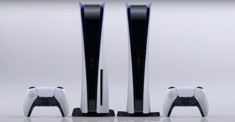 Die Playstation 5 in zwei Varianten