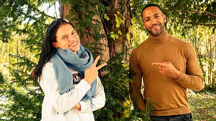 Cesár und Conny im Interview