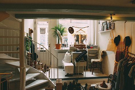 Schmutziges Apartment