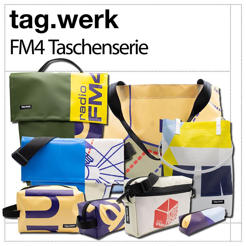 Tag.werk Taschen für FM4
