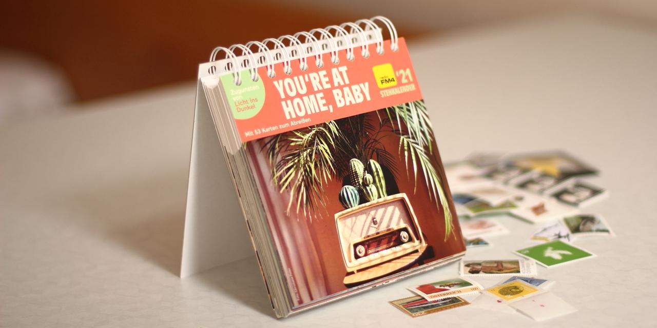 FM4 Stehkalender und Briefmarken